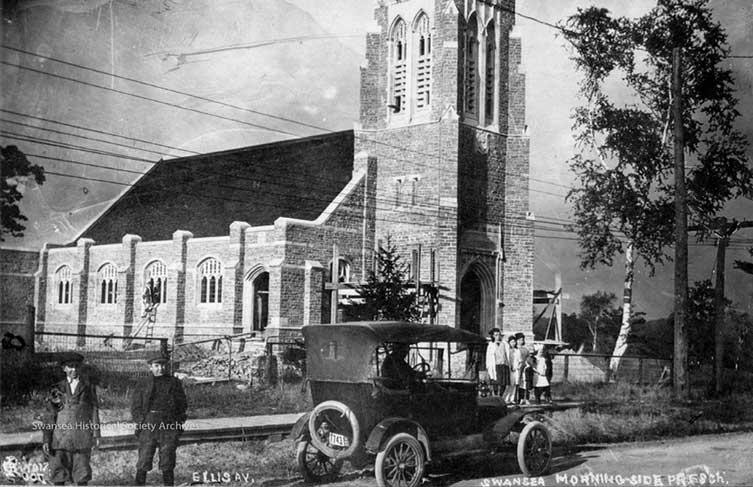 Morningside Church, 1915 - Swansea Historical Society Archive