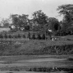 Ellis Villa Location on Ellis Avenue looking East Across Catfish