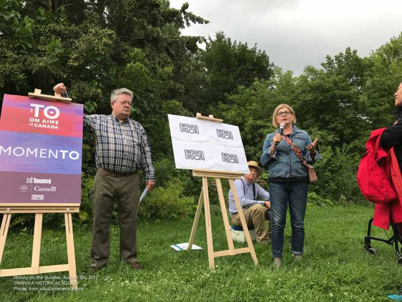 History on the Humber walk with Parkdale-High Park. MPP, Cheri Dinovo giving opening comments.