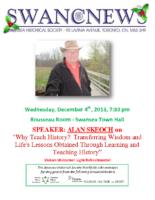 SHS Newsletter – Dec 2013