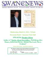 SHS Newsletter – Mar 2015