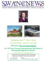 SHS Newsletter – May 2014