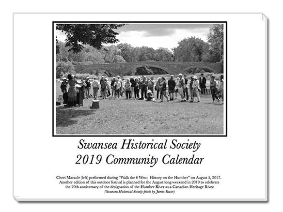 Swansea Historical Society 2019 Calendar